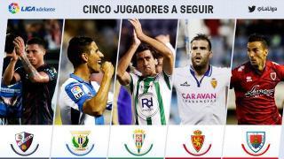 Cinco jugadores a seguir en la jornada 8 de la Liga Adelante
