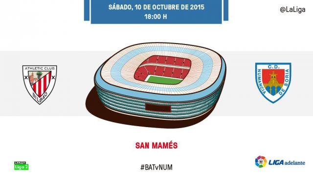 En directo: Bilbao Athletic - CD Numancia