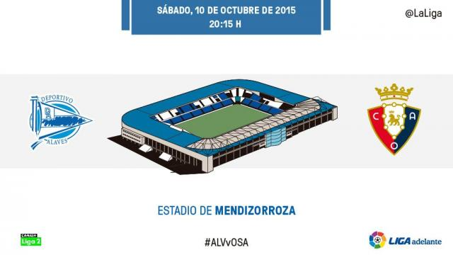 Sigue el D. Alavés - At. Osasuna