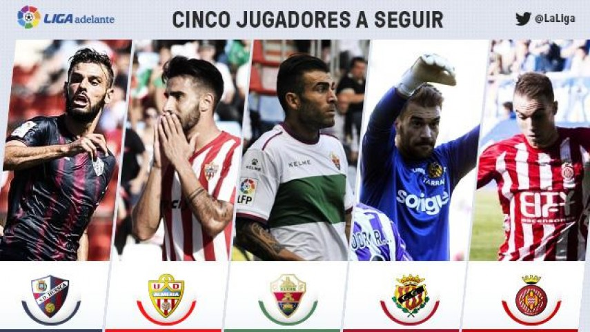 Cinco jugadores a seguir en la jornada 7 de la Liga Adelante