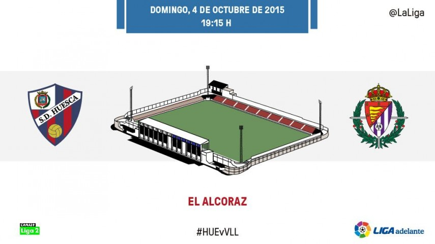 El Valladolid busca reencontrarse venciendo a un exaltado Huesca