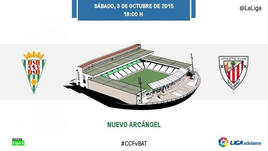 Rachas opuestas entre Córdoba y Bilbao Athletic