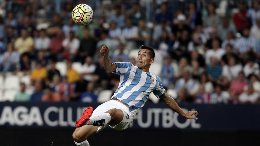 Hat-trick de Charles y primera victoria para el Málaga