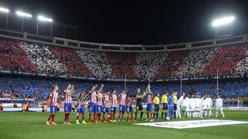 La historia de los derbis en el Vicente Calderón escribirá su punto final