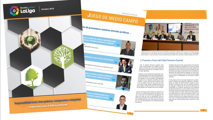 Lanzamiento del segundo número de la revista jurídica LaLiga