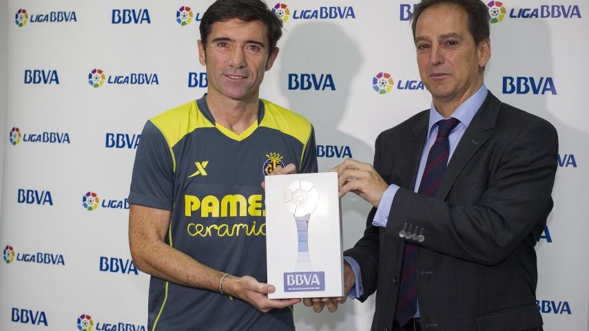 Marcelino, mejor técnico de la Liga BBVA en septiembre