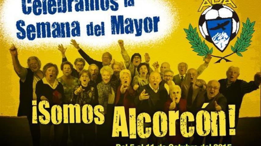 La AD Alcorcón celebra la