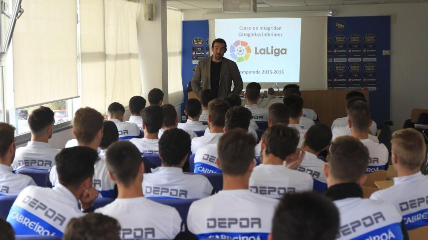 Los talleres de integridad de LaLiga continúan