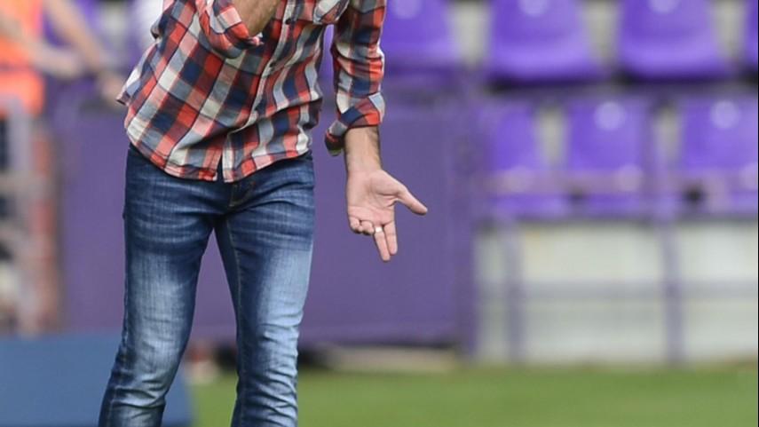 Gaizka Garitano, destituido como entrenador del Real Valladolid
