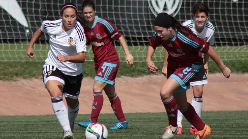Cuádruple empate en cabeza de la Primera División Femenina