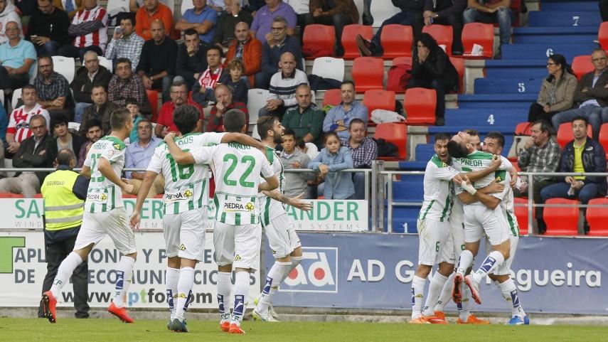 El Córdoba sigue en estado de gracia en la Liga Adelante