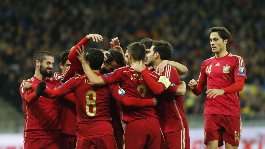 La selección española cumple ante Ucrania