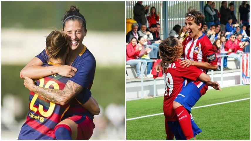 FC Barcelona y Atlético Féminas buscan el pase en la Champions Femenina