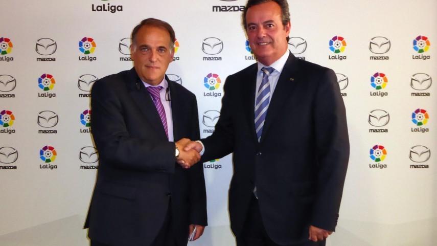 Mazda se une a LaLiga como patrocinador oficial