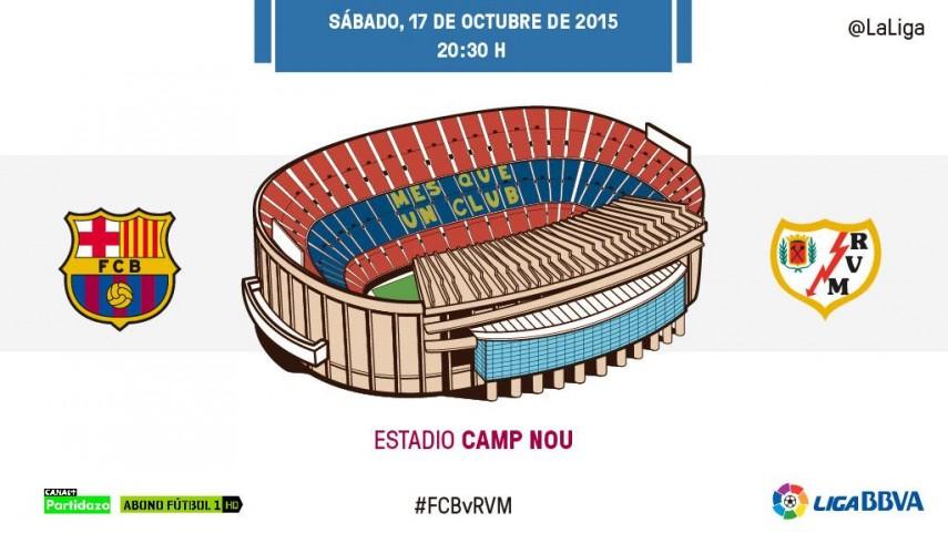 Barcelona y Rayo Vallecano quieren volver al camino de la victoria