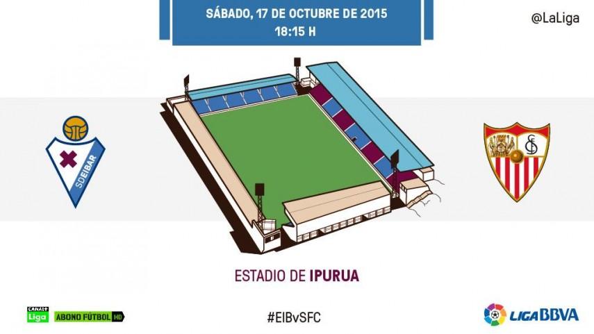 Eibar y Sevilla miden su buen momento