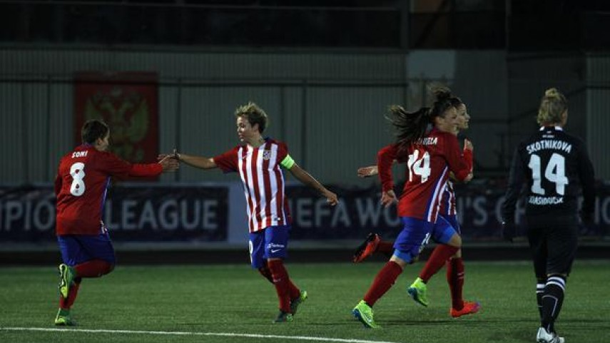 El Atlético Féminas remonta y se clasifica para octavos de la Champions