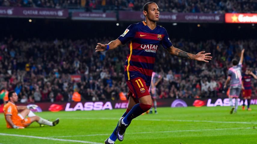 Neymar lidera la goleada al Rayo Vallecano