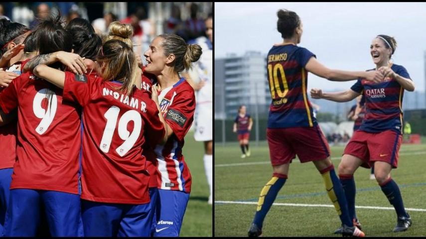 Twente y O. de Lyon, rivales del Barcelona y Atlético en octavos de la Champions femenina