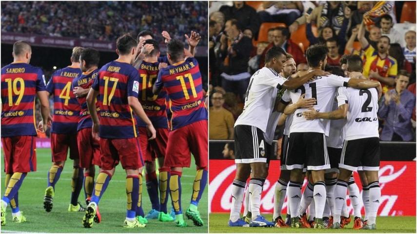 Barcelona y Valencia quieren mantener el vuelo en la Champions
