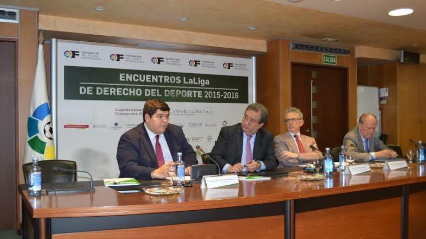 III Encuentro LaLiga de Derecho del Deporte 2015-2016