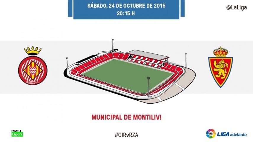 Girona y Zaragoza, en busca de la victoria