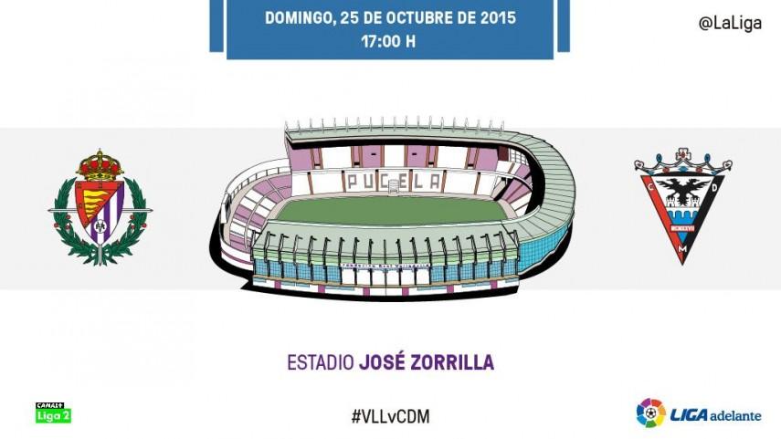 El CD Mirandés será el primer examen del nuevo Real Valladolid