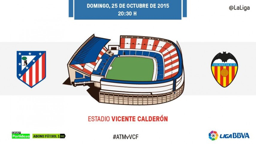Atlético y Valencia siguen obligados a ganar