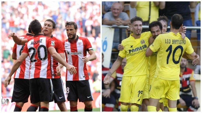 Athletic y Villarreal, a por la segunda victoria en la Europa League