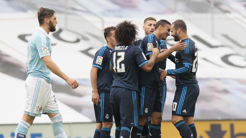 El Real Madrid conquista Balaídos
