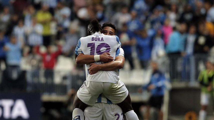 El Málaga vuelve a creer en sí mismo
