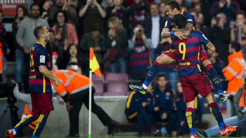 El FC Barcelona decide en las segundas partes