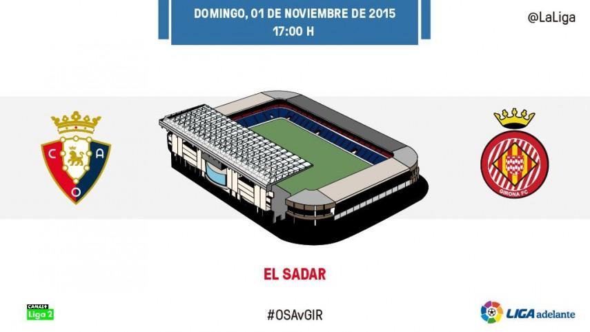 Un estadio inexpugnable mide la dinámica del Girona