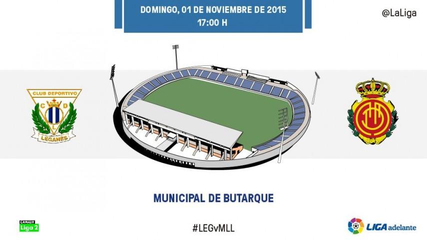 CD Leganés – RCD Mallorca: duelo al 15