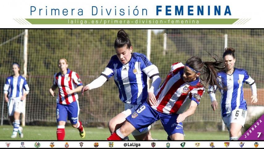 Duelo de líderes en la jornada 7 de la Primera División femenina