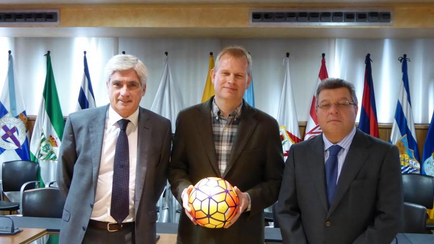 LaLiga sigue su trabajo con las instituciones europeas