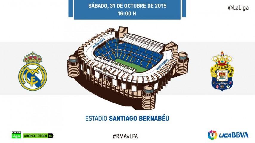 Las Palmas quiere estrenar las redes del Bernabéu