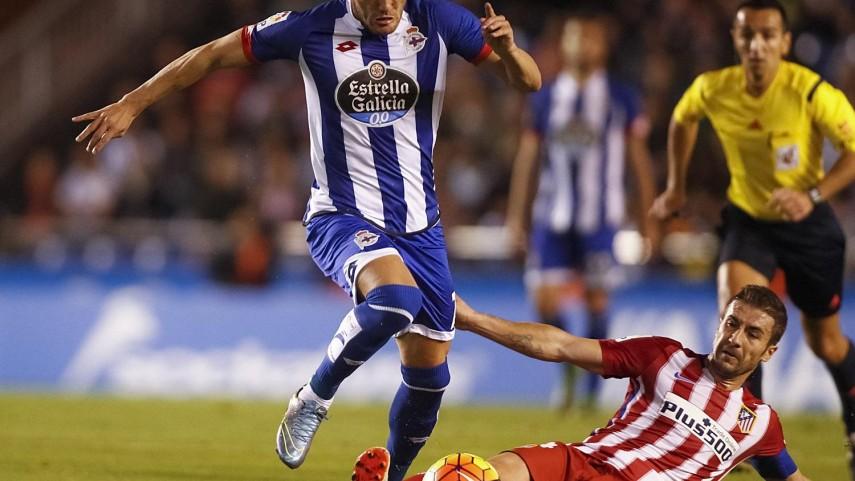 La insistencia de Lucas Pérez frena al Atlético