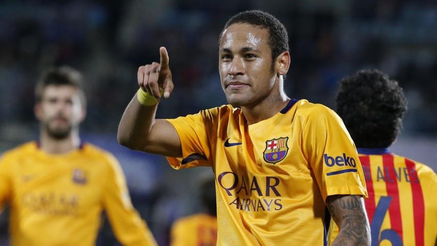 Neymar y Luis Suárez siguen impulsando al Barcelona