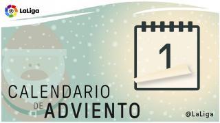 Calendario de Adviento de LaLiga: 1 de diciembre
