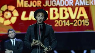 Neymar, 'Mejor Jugador Americano de la Liga BBVA 2014/15'