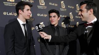 Así vivieron los invitados la gala de los #PremiosLaLiga