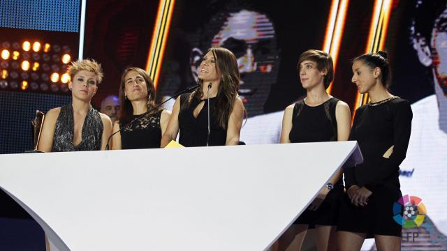 Amanda Sampedro: 'Así viví la Gala de los #PremiosLaLiga 2014'