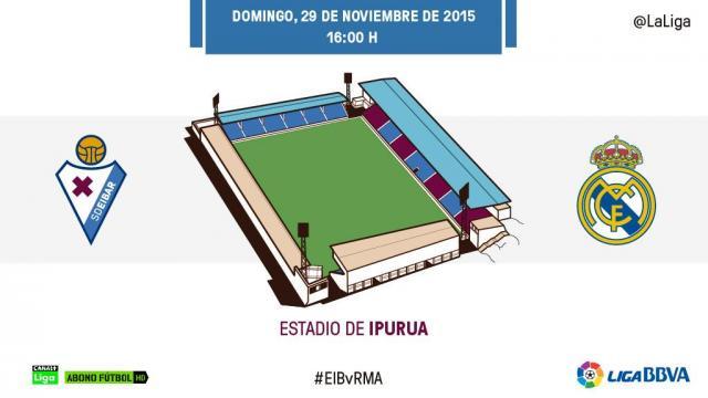 Reválida para el Real Madrid en Ipurua