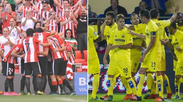 Athletic y Villarreal quieren poner su nombre en el billete a dieciseisavos