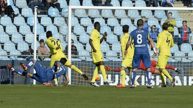 Directo: Mario se lesiona en el Villarreal