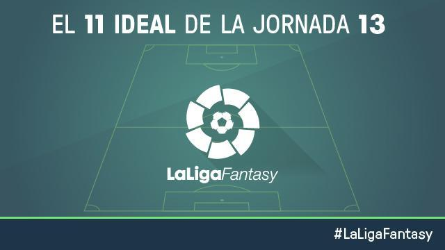 Once ideal de LaLiga Fantasy en la jornada 13