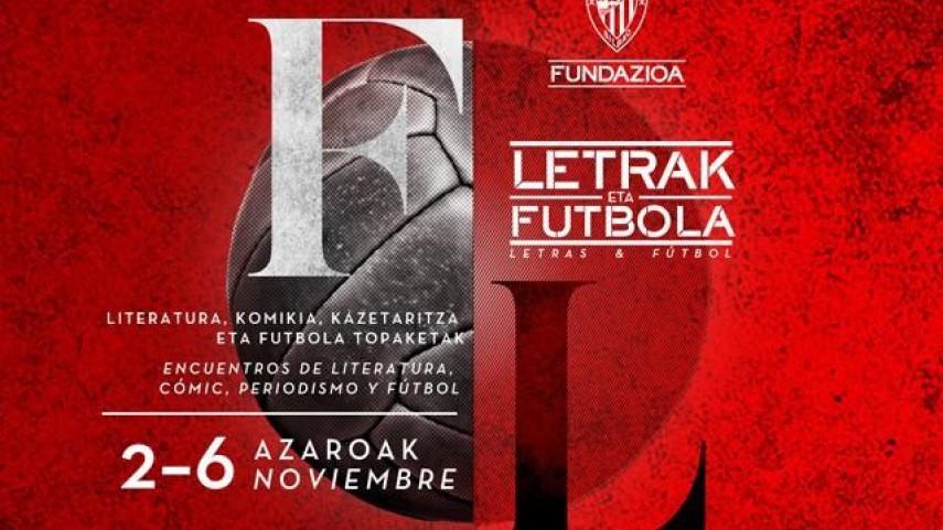 Arranca la sexta edición de 'Letras y Fútbol'