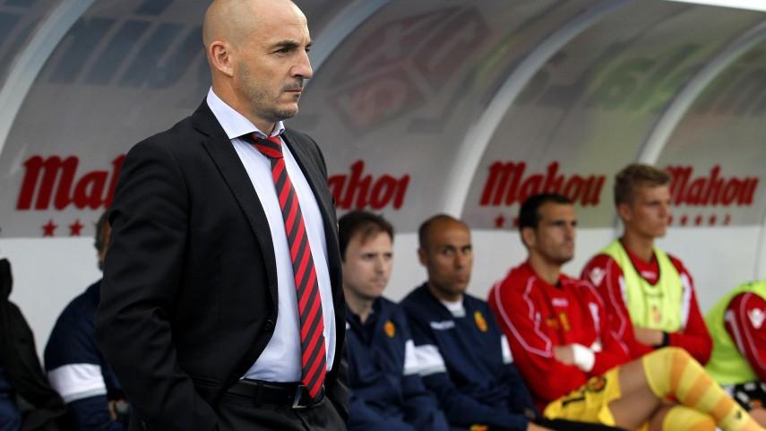 Albert Ferrer, destituido como entrenador del RCD Mallorca