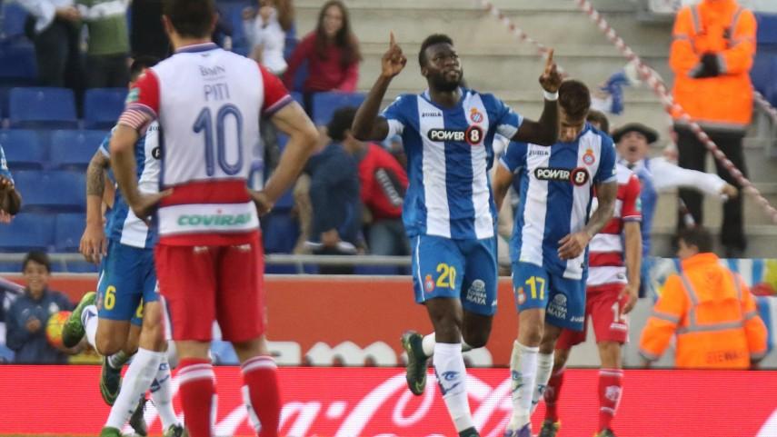 La fe de Caicedo rescata al Espanyol
